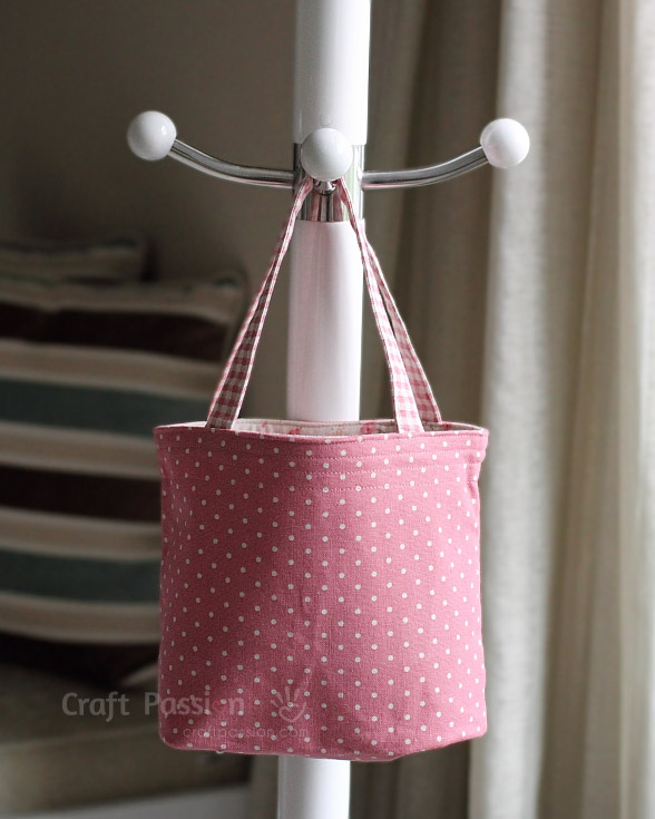 pink lunch box bag pattern
