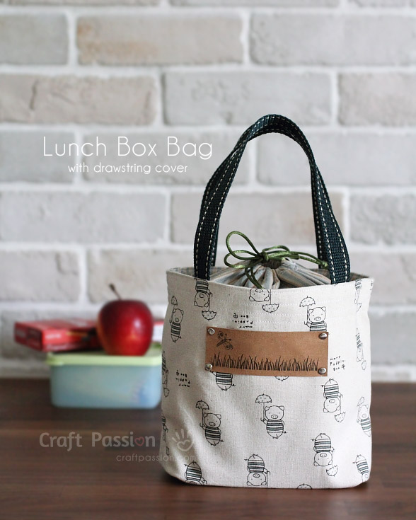 Lunch Box Bag - Free Sewing Pattern | Craft Passion