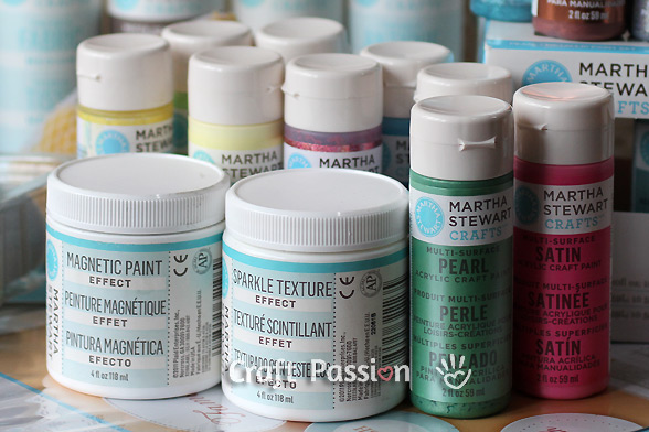 Martha Stewart effect paint DIY paint projects