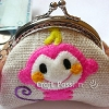 Monkey Kisslock Coin Purse