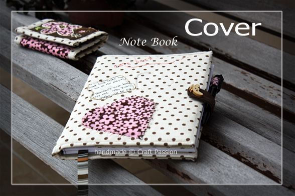 Note-Book Cover Sewing Pattern
