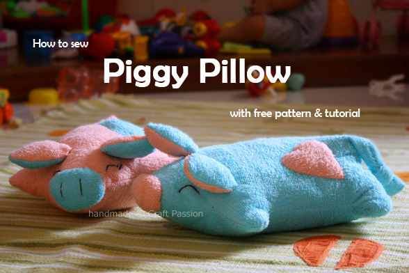 piggy pillow pattern