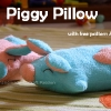 Piggy Pillow Sewing Pattern