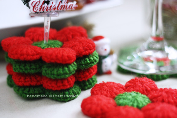 poinsettia crochet pattern