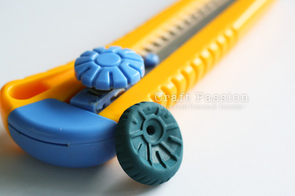 polymer clay wheel