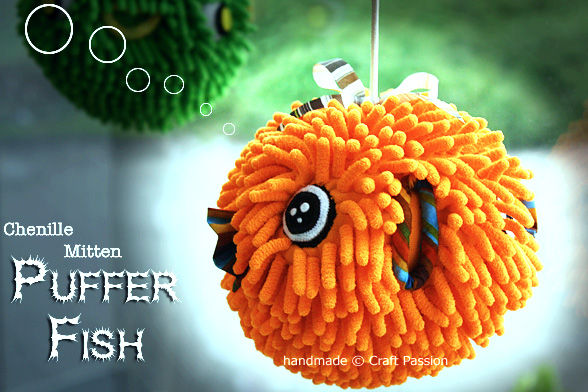Sew PufferFish Doll