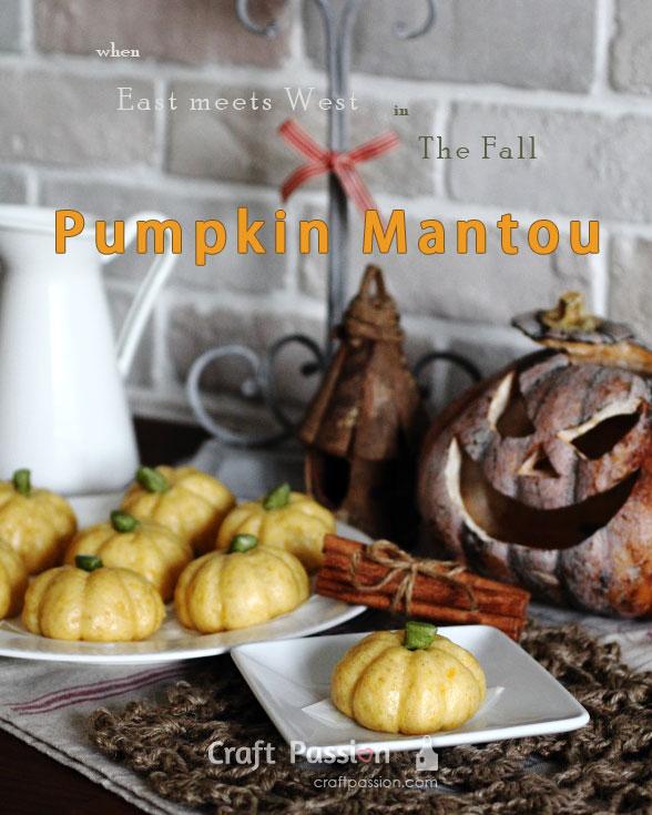pumpkin mantou