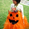 No Sew Pumpkin Tutu – Halloween Costume