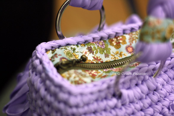 crochet loop stitch bag