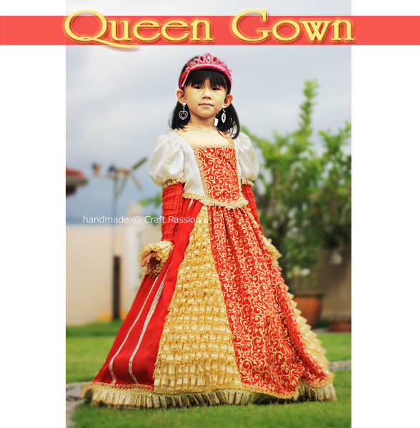 queen gown pattern