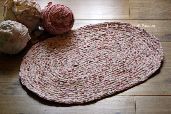 Braided Rag Rug How To Sew Craft Pion Free Pattern