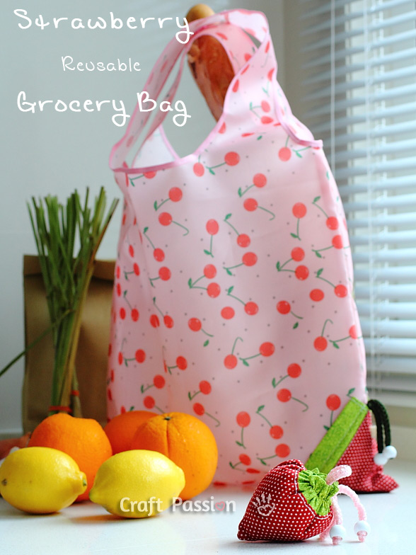 strawberry bag pattern