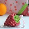 Strawberry Reusable Grocery Bag