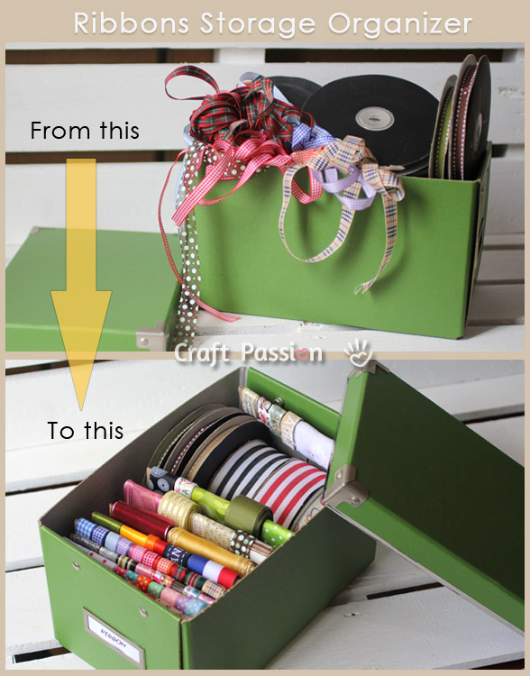 ribbons organizer