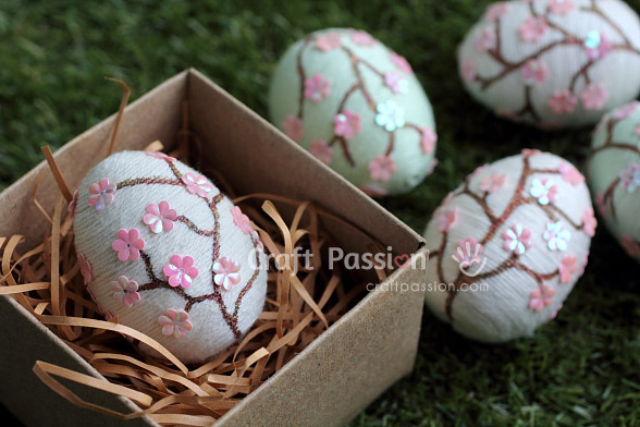 Sakura Easter Eggs