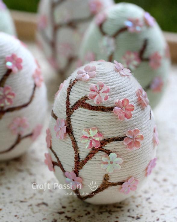 flower easter egg