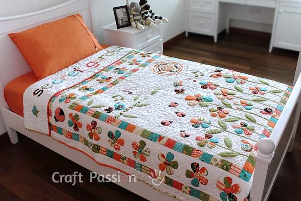 Secret Garden Quilt Pattern