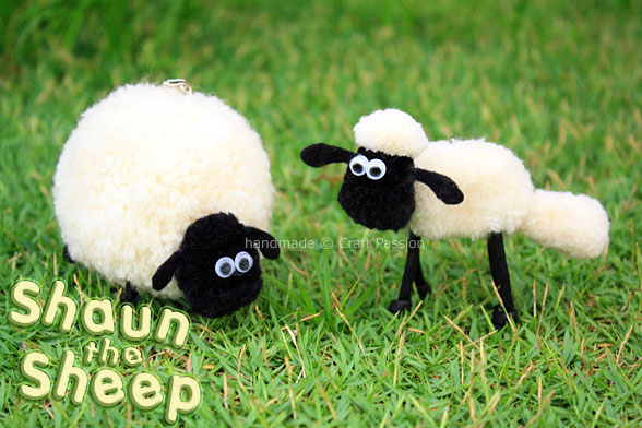 Pom-Pom Shaun The Sheep Tutorial