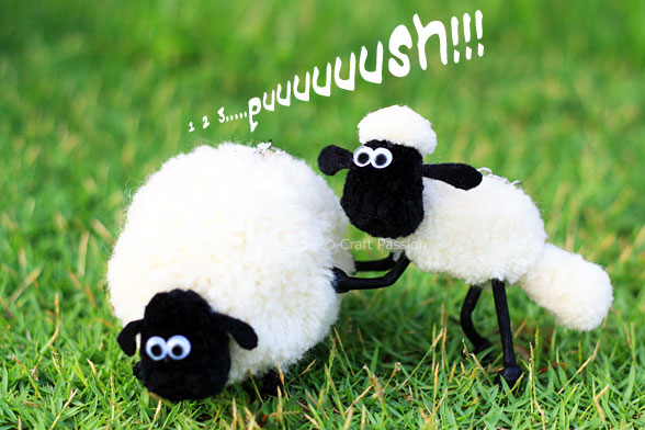 pom-pom shaun the sheep