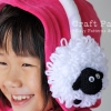 Sheep EarMuffs For Kid Crochet Pattern