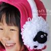 Sheep EarMuffs For Kid Crochet Pattern