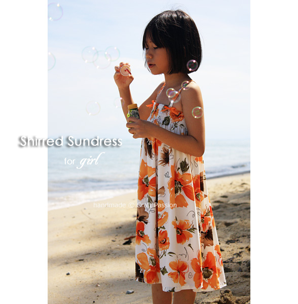 Shirred Sundress - Free Sewing Pattern | Craft Passion