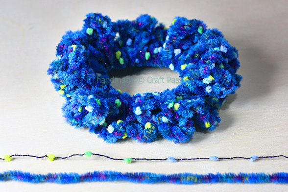 hair scrunchies crochet pattern