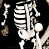 DIY Halloween Skeleton Costume