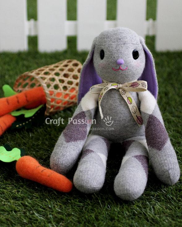 sock bunny