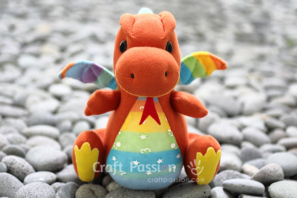 Sock Dragon - Free Sewing Pattern | Craft Passion