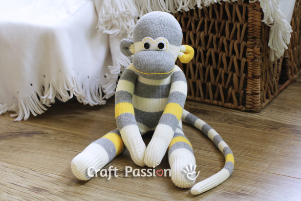 sock monkey sewing tutorial