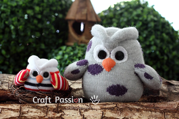 Sock Owl Pattern