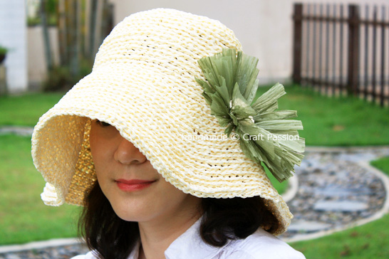 Sun hat crochet pattern | DIY straw hats | Woven straw hat | How To Sew A Sun Hat For A Cooler And Fresher Summer