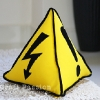 Safety Sign Triangle Pillow Sewing Pattern