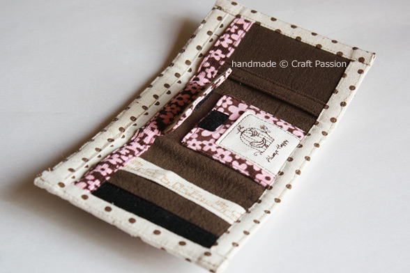 Trifold Wallet Free Sewing Pattern Tutorial Craft Passion