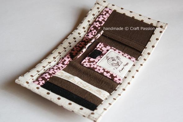 folded purse pattern