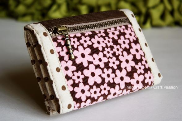 trifold purse pattern