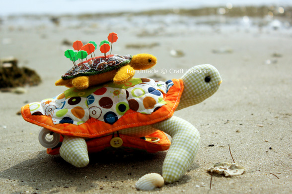 Turtle Pincushion Patterns by Craft Passion