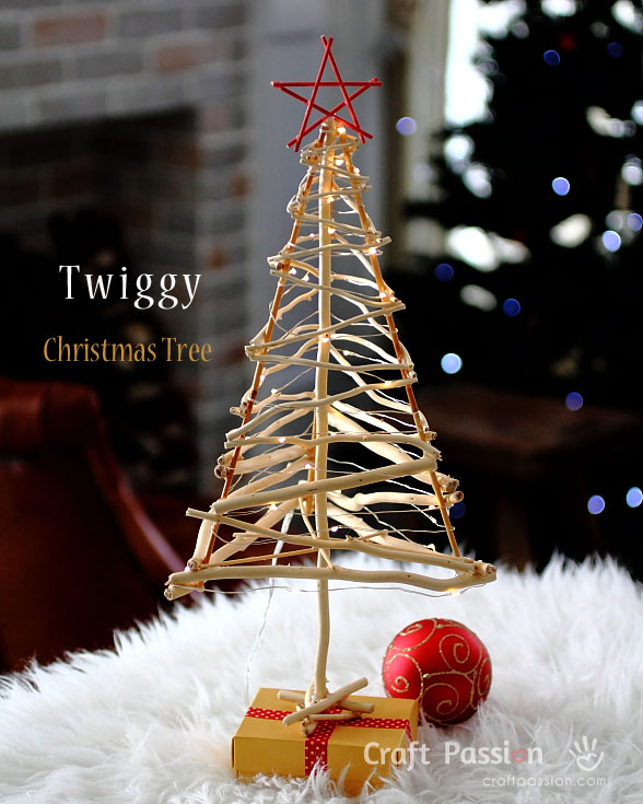 twigs christmas tress