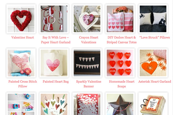 valentine 40 DIY tutorials