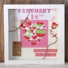 Valentine's Scrapbooking Display