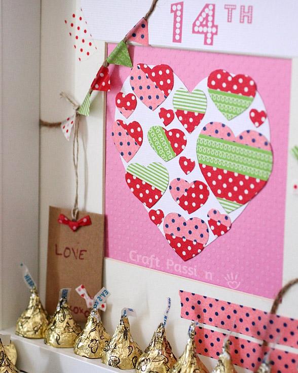 valentine scrapbooking