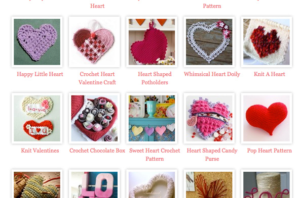 Valentine's Day Yarn Crafts