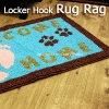 Locker Hook Pattern: Welcome Home Rug