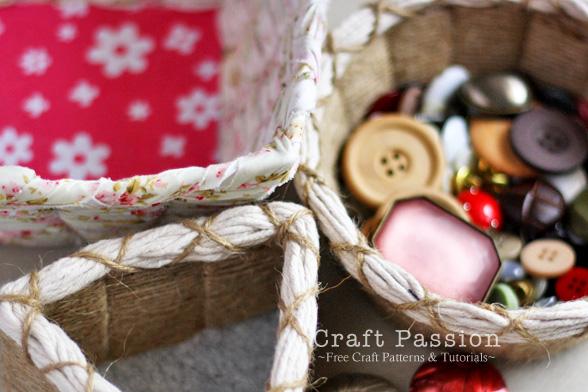 Easy weave basket