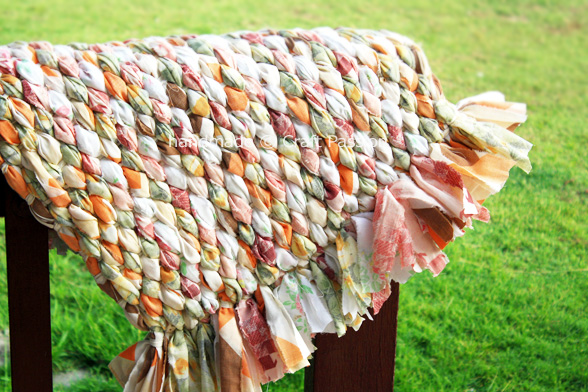 Woven Rag Rug - Recycle Craft | Craft