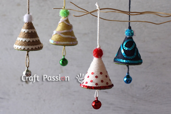 christmas tree ornament diy tutorial craft passion - Childrens Christmas Tree Decorations