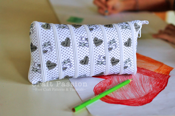 Zip It Up Pencil Case