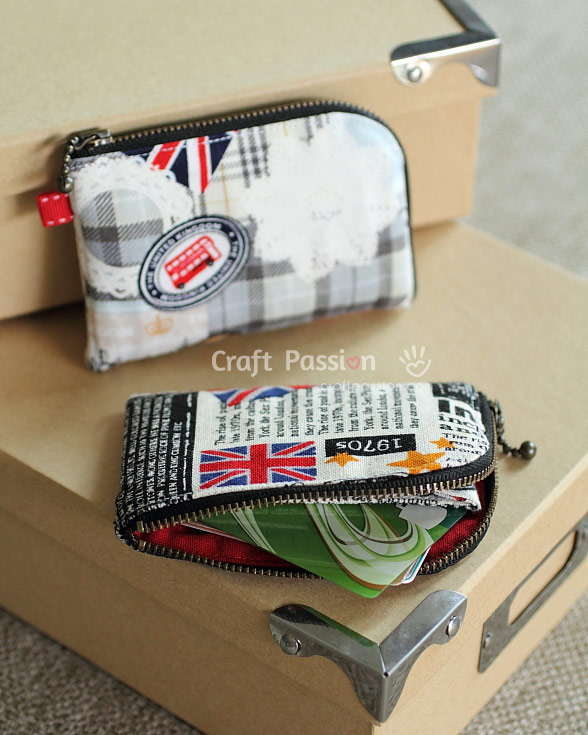small pouch for cards