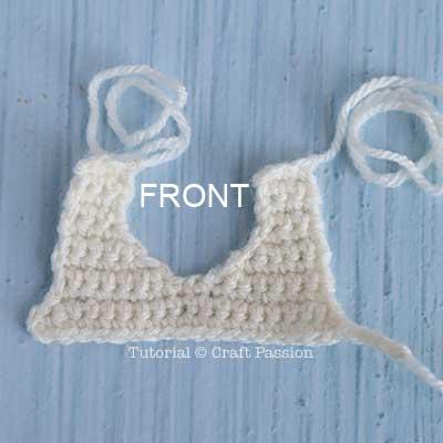 crochet dress front